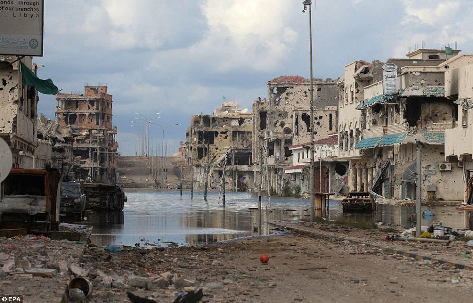 Sirte tras el paso de la OTAN