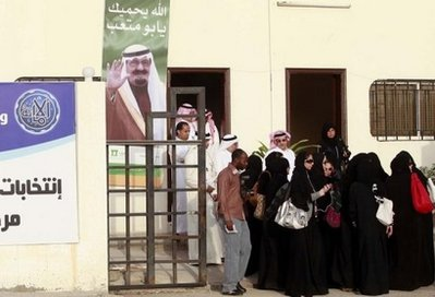vote woman saudi arab