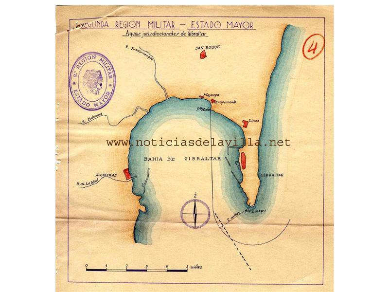 aguas territoriales gibraltar según ejército español