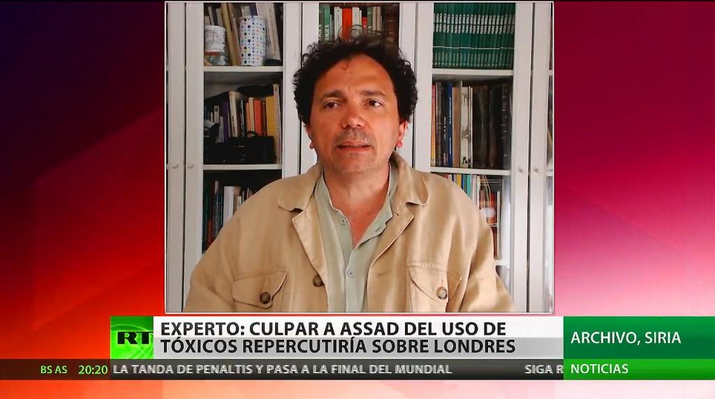 Londres intenta culpar a Al Assad, aun cuando sus acusaciones podr�an tener un efecto bumer�n