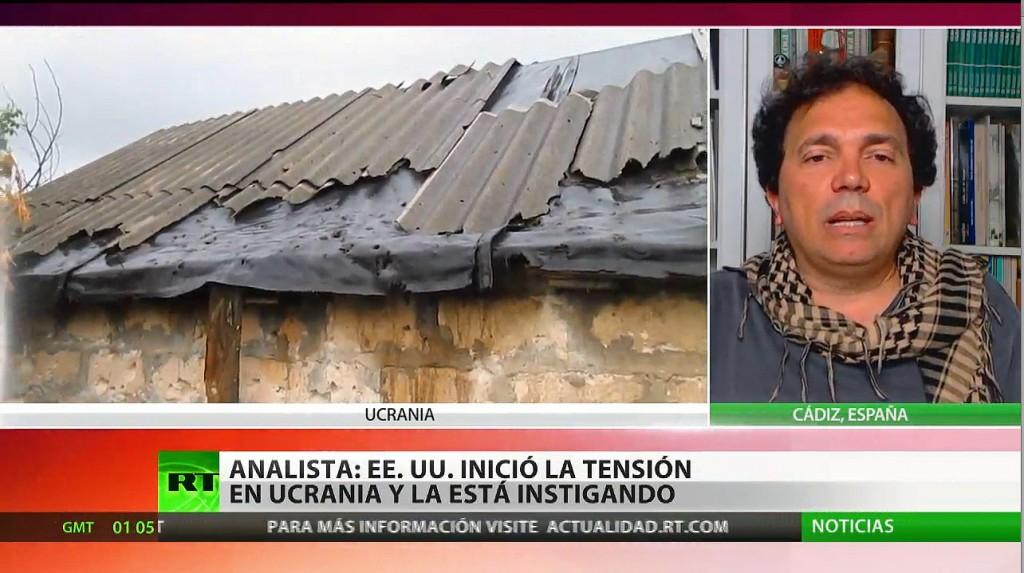 """Analista: """"EE.UU. inici� la tensi�n en Ucrania y la est� instigando"""""""