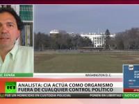 """Analista: """"La CIA act�a como organismo fuera de cualquier control pol�tico"""""""