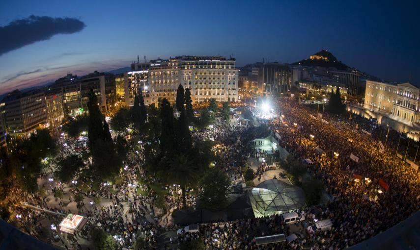 De Col�n a Syntagma�